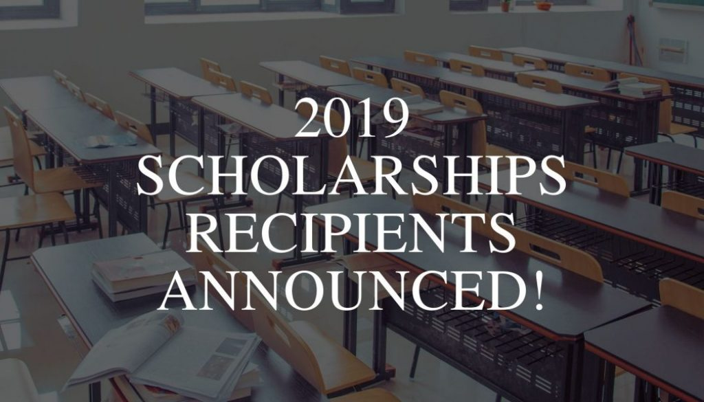 2019 Scholarships Recipients Announced updates backgroud-community foundation