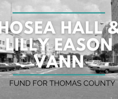 Hosea & Lilly Vann Fund Page Banner