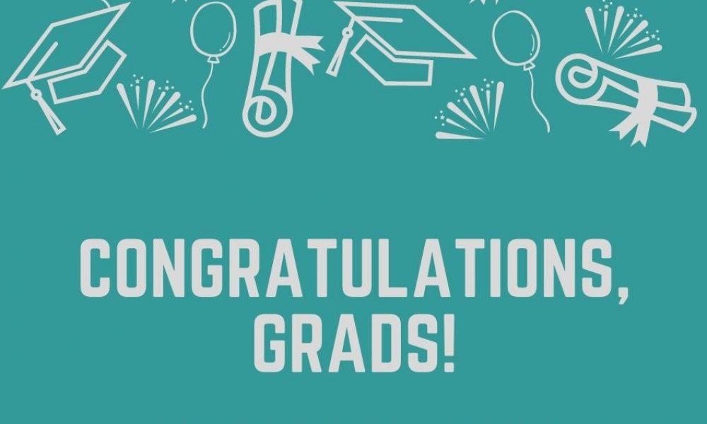 Congratulations, grads! Facebook Post